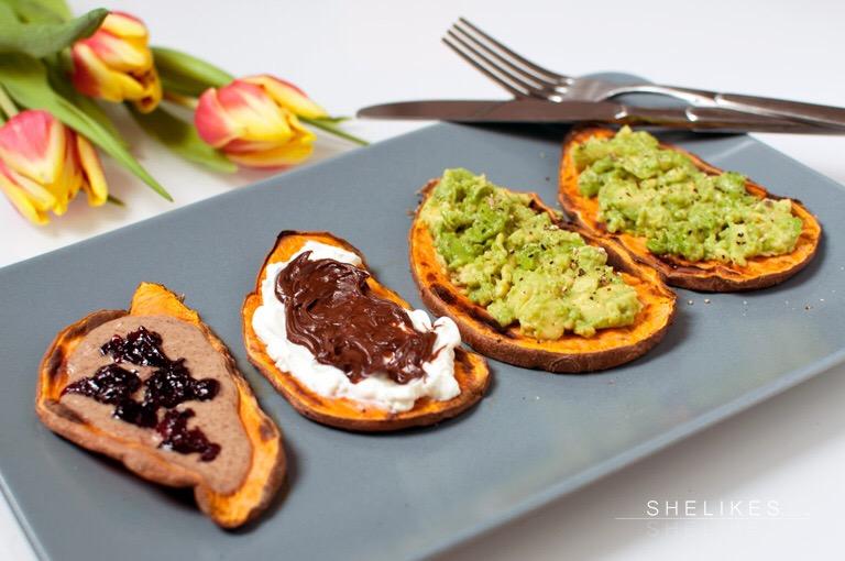 Instagram-Trend | Sweetpotato Toasts