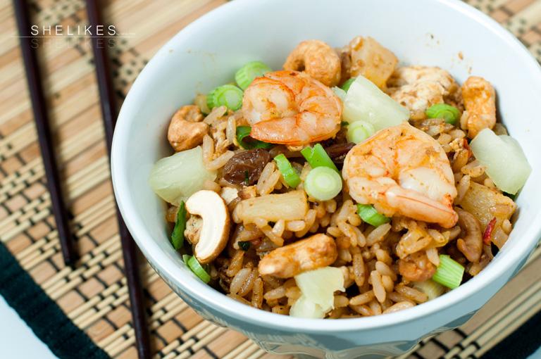 Thai-Food | Pineapple Fried Rice