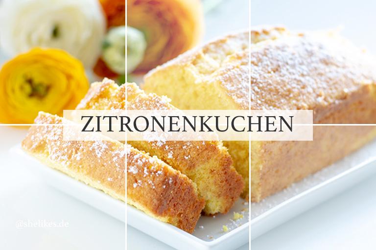 [Cake Classics] Zitronenkuchen