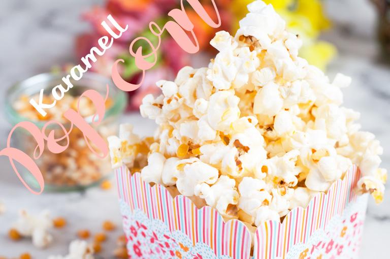 Karamell Popcorn wie im Kino