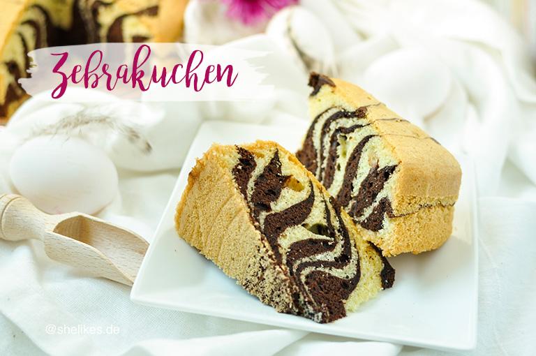 [Cake Classics] Zebrakuchen
