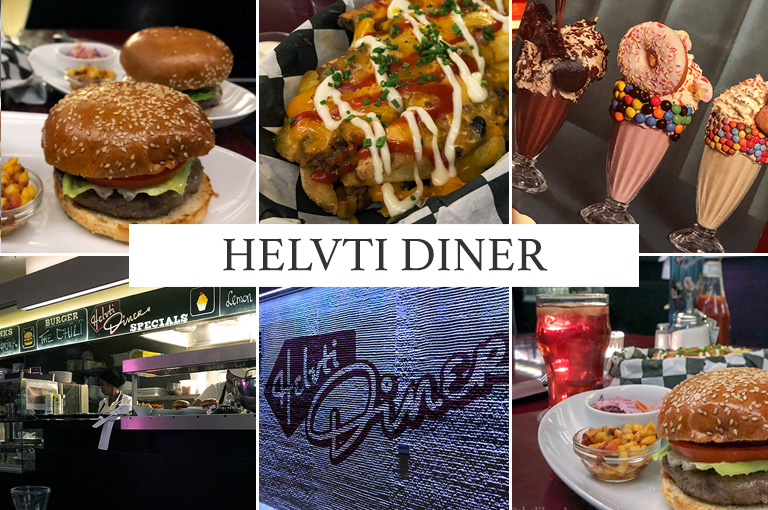 [Review] Burger im Helvti Diner Zürich