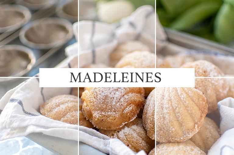 Madeleines mit Tonkabohne