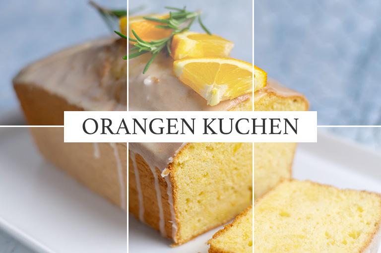 Fluffiger Orangenkuchen