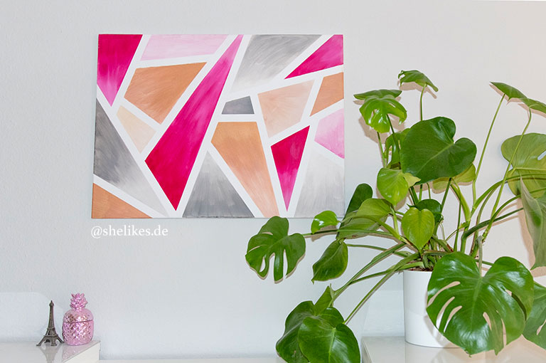 [HOME|DIY] Geometrisches Splitter Bild