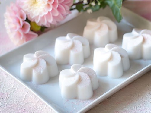 Thai Food | วุ้นกะทิ Coconut Jelly | Kokosgelee – vegan & laktosefrei