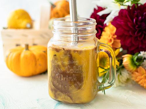 Pumpkin Choco Smoothie – vegan