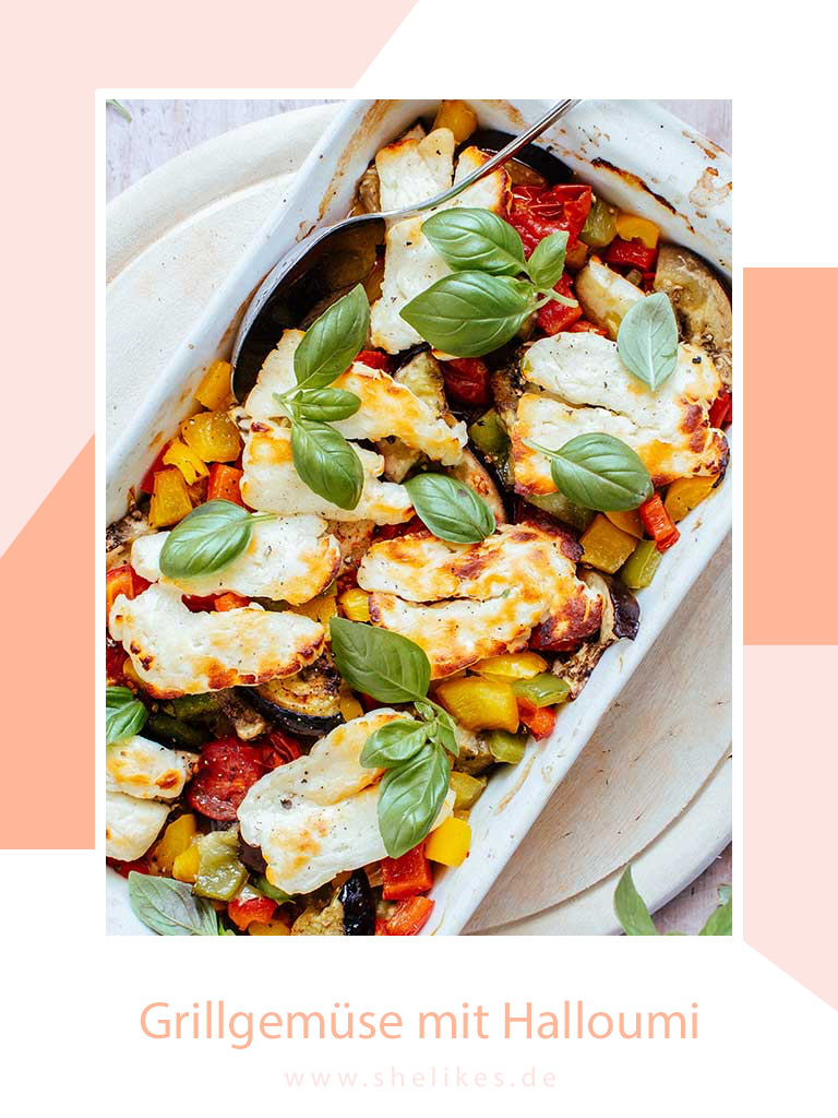 [Lowcarb & Veggie] Grillgemüse mit Halloumi