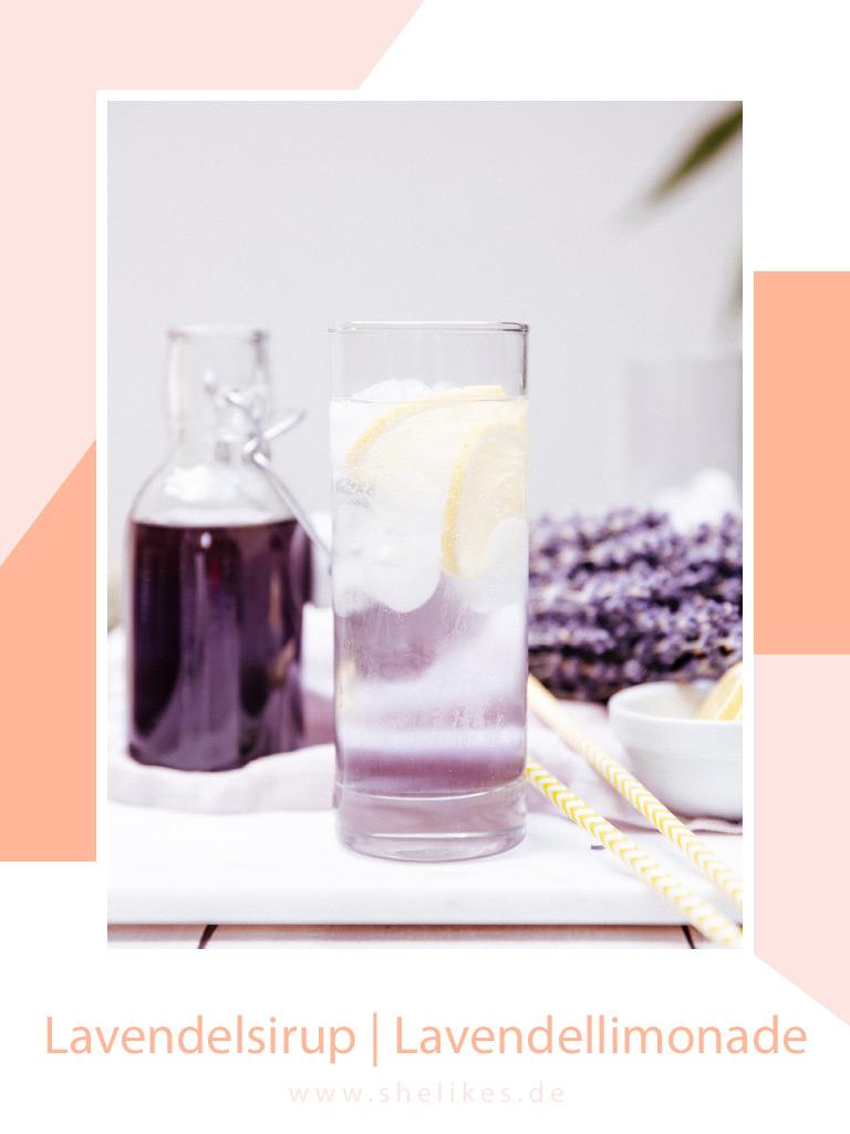 Selbstgemachter Lavendelsirup | Lavendellimonade