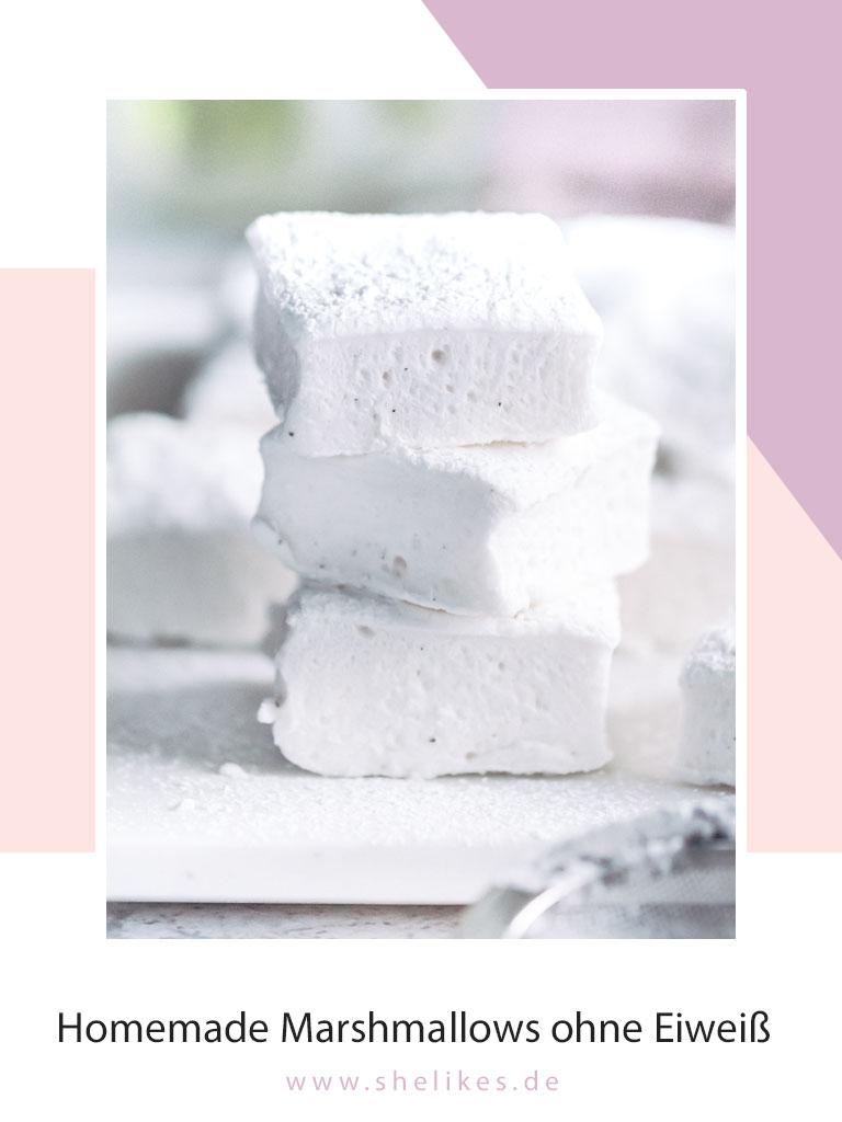 Homemade Marshmallows ohne Eiweiß