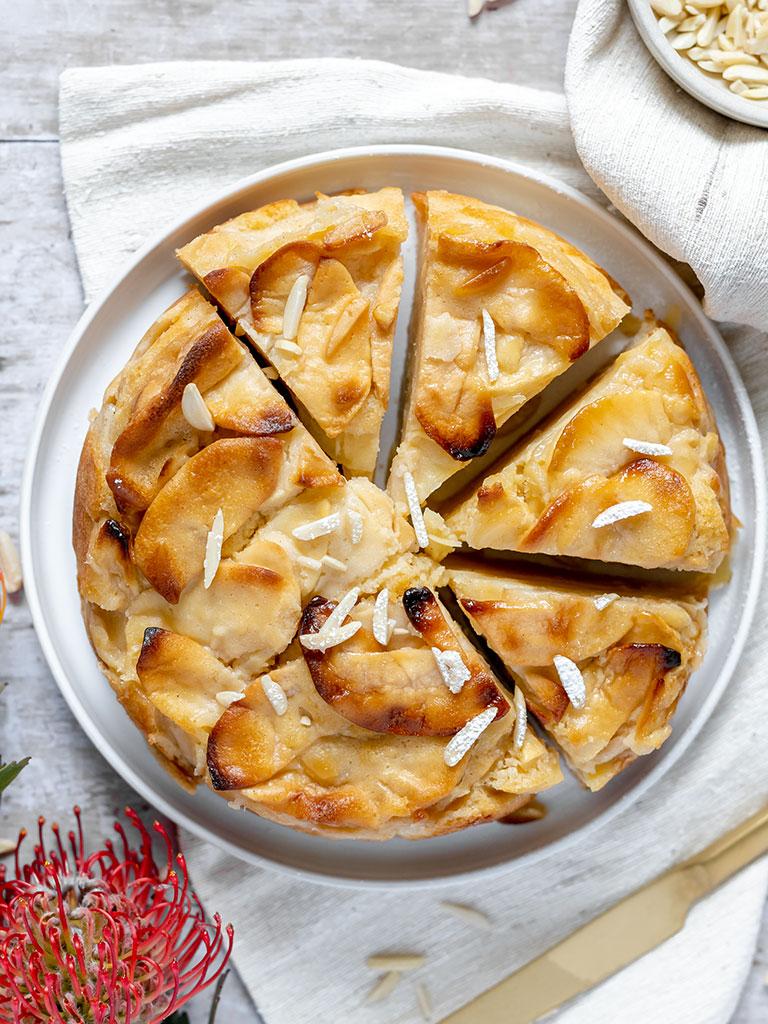 Super saftiger Apfelkuchen – mit sehr viel Apfel & wenig Teig